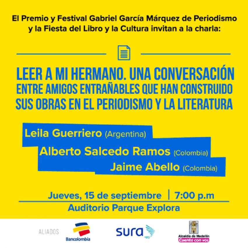 Invitados Fetsival Gabo 2016