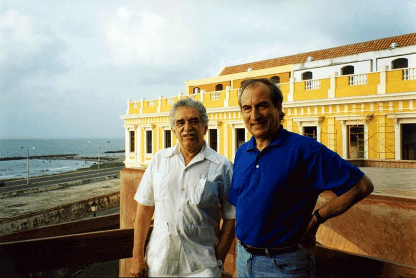Gabriel García Márquez y Tomás Eloy Martínez.