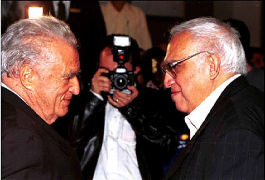 Julio Scherer y Carlos Monsivais