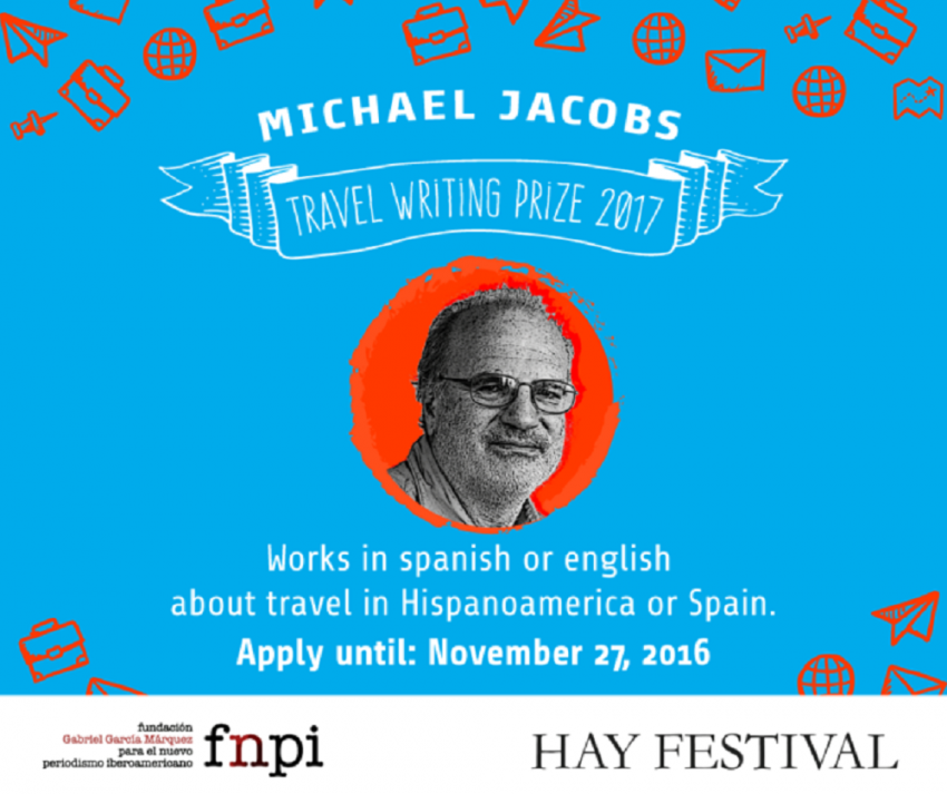 Apply for the Michael Jacobs travel writing prize