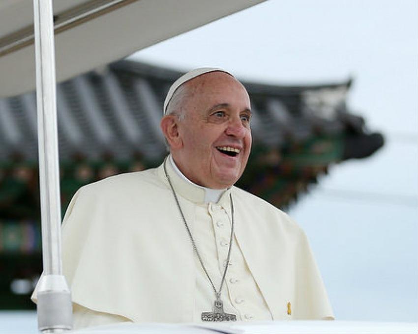 El papa Francisco / Fotografía: Korea.net en Flickr / Usada bajo licencia Creative Commons