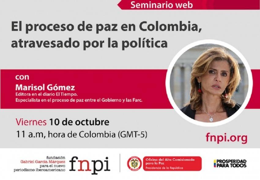 El proceso de paz en Colombia, atravesado por la política
