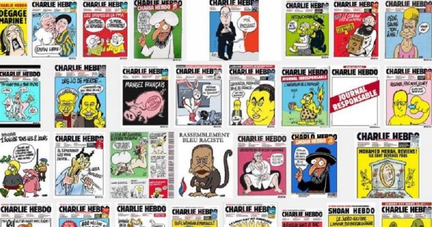 Portadas recientes de Charlie Hebdo