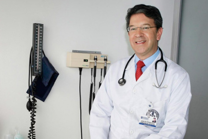 El Dr. Carlos Francisco Fernández   Cortesía: El Tiempo