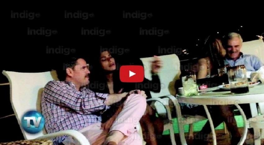 Pantallazo del video publicado por Reporte Índigo.