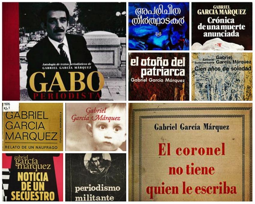 Portadas de algunas de las obras reseñadas en la Gaboteca / Montaje: Red Ética Segura