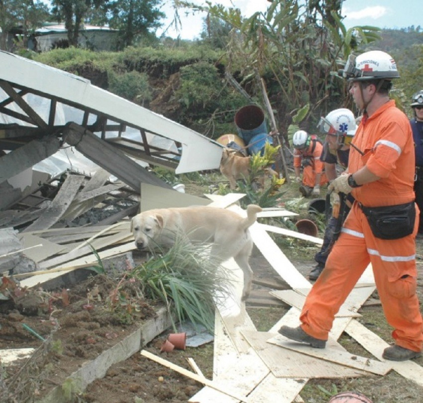 Fotografía: Cruz Roja Costarricense