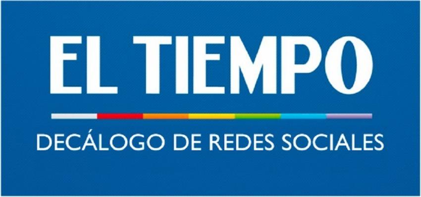 Decálogo de Comportamiento en Redes Sociales del diario El Tiempo