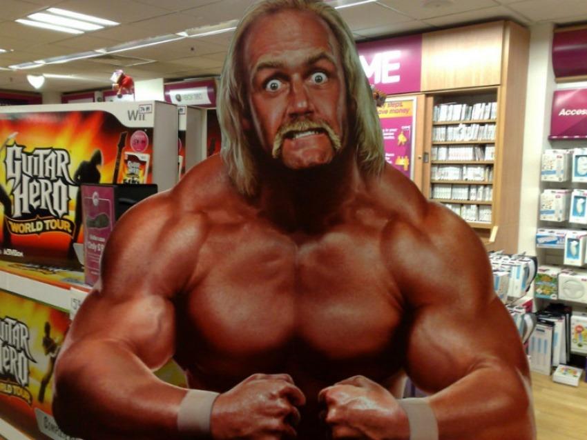 El luchador Hulk Hogan | Fotografía: Tom Hodkingson en Flickr | Usada bajo licencia Creative Commons