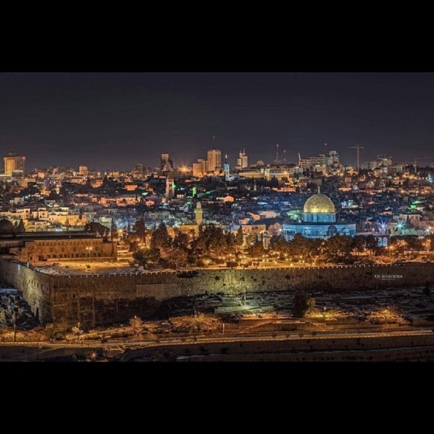 Panorámica de Jerusalén / @avrajam_espinoza en Instagram