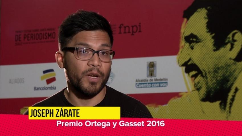 Joseph Zárate, Festival Gabo 2016