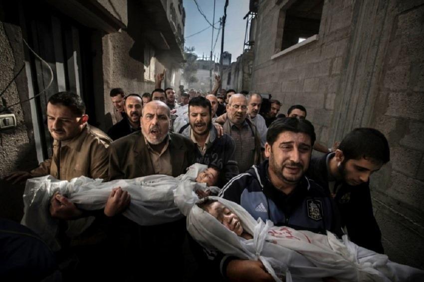 La fotografía de Paul Hansen ganadora del World Press Photo 2013 / AP