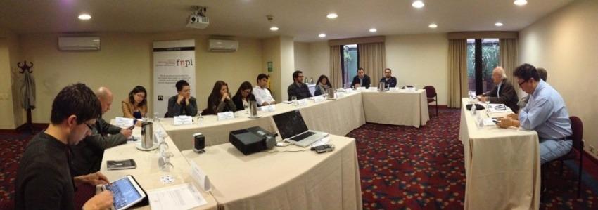 Representantes de los principales medios de comunicación colombianos asistieron al evento auspiciado por el Grupo Sura / Foto: Ana Vallejo / FNPI