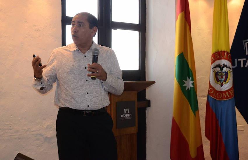 Rafael Obregón, jefe de comunicación para el desarrollo de Unicef.