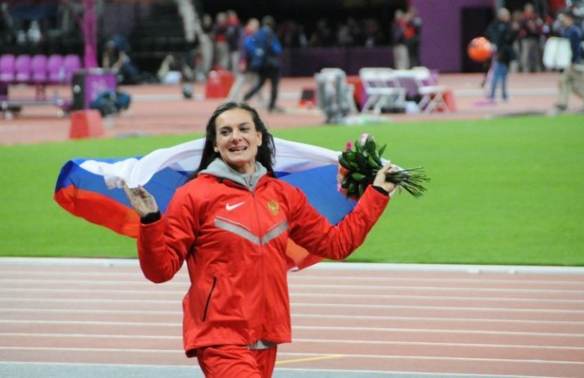 La atleta rusa Yelena Isinbáyeva / Citizen59 de Flickr / Usada bajo licencia Creative Commons