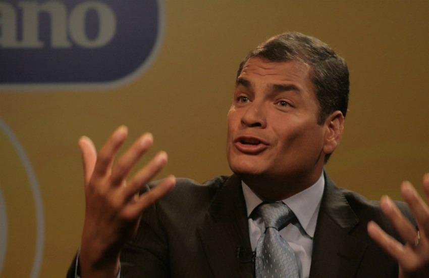 Fotografía: Presidencia del Ecuador en Flickr   Usada bajo licencia Creative Commons