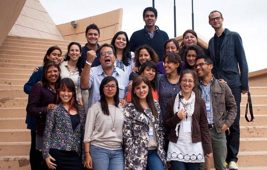 Participantes del Taller de reportería e investigación en el periodismo cultural en 2011. Foto: Alejandro Cossio