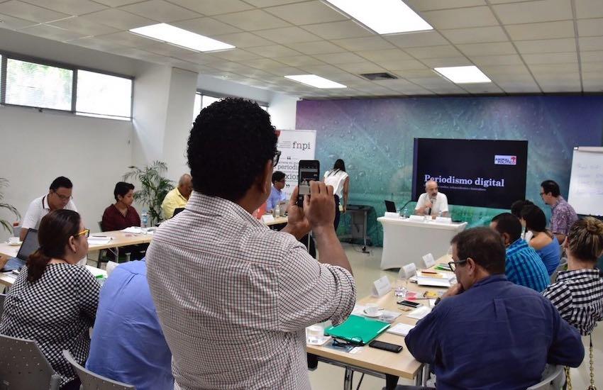 El Taller de periodismo emprendedor en el Caribe colombiano fue posible gracias a Promigas.  Foto: Carlos Torres.