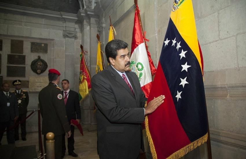Nicolás Maduro, presidente de Venezuela | Fotografía: Cancillería de Ecuador en Flickr | Usada bajo licencia Creative Commons
