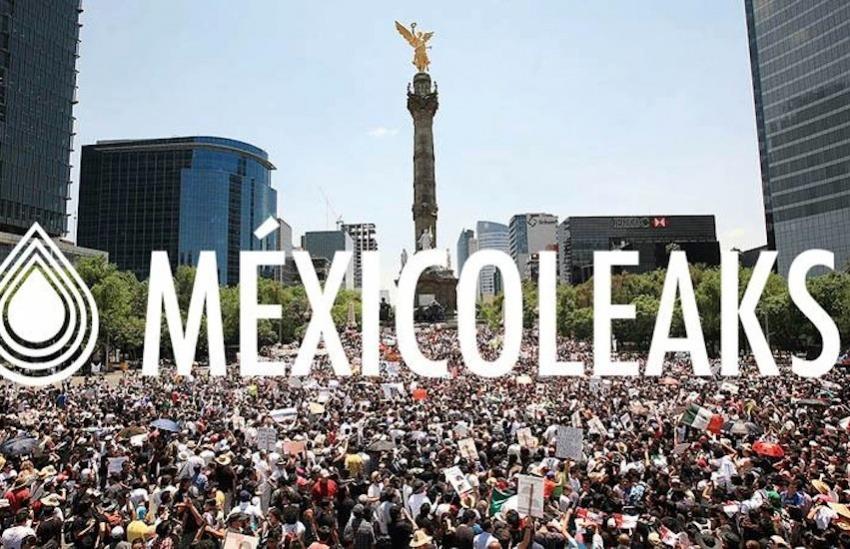 Fotografía: Mexicoleaks en Facebook