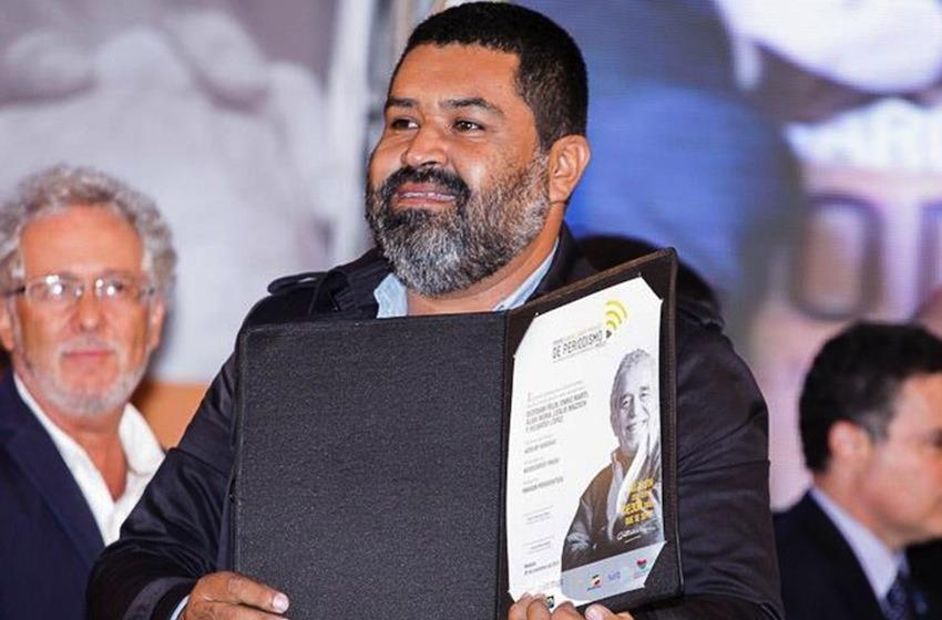 Esteban Felix, ganador de la catergoría imagen / Foto: Archivo FNPI