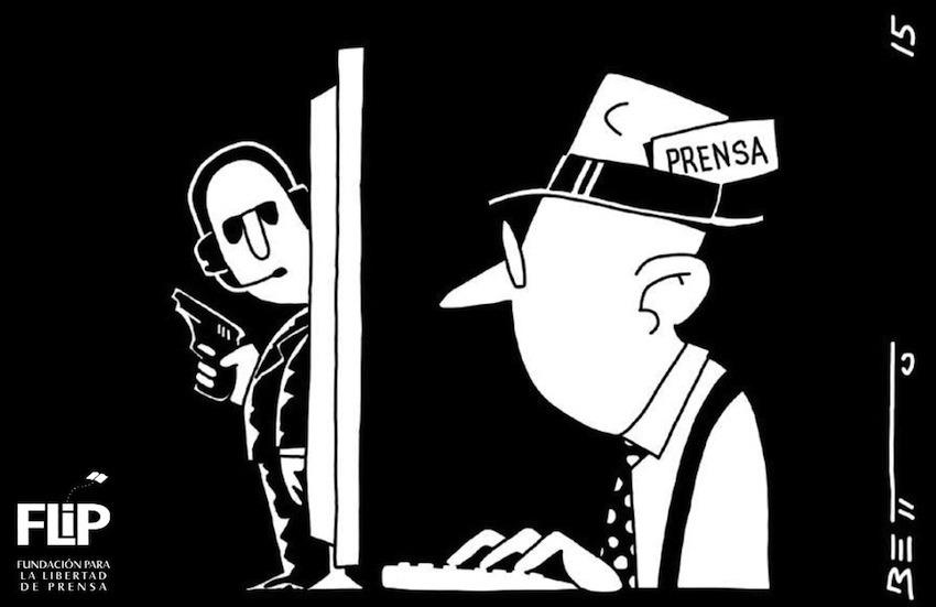 Ilustración: Fundación para la Libertad de Prensa