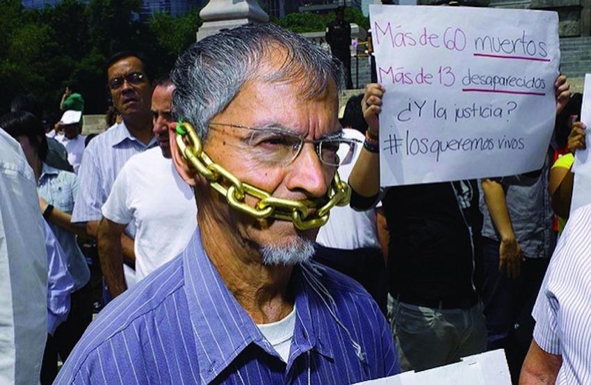 Manifestación contra la violencia en México / Foto: Knight Foundation en Flickr / Usada bajo licencia Creative Commons