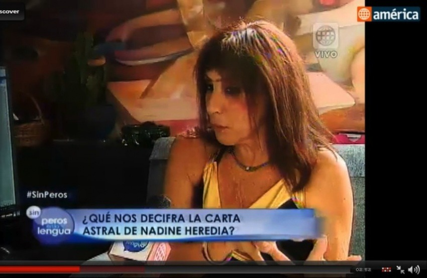 Muriel Valdivia, astróloga consultada por América TV