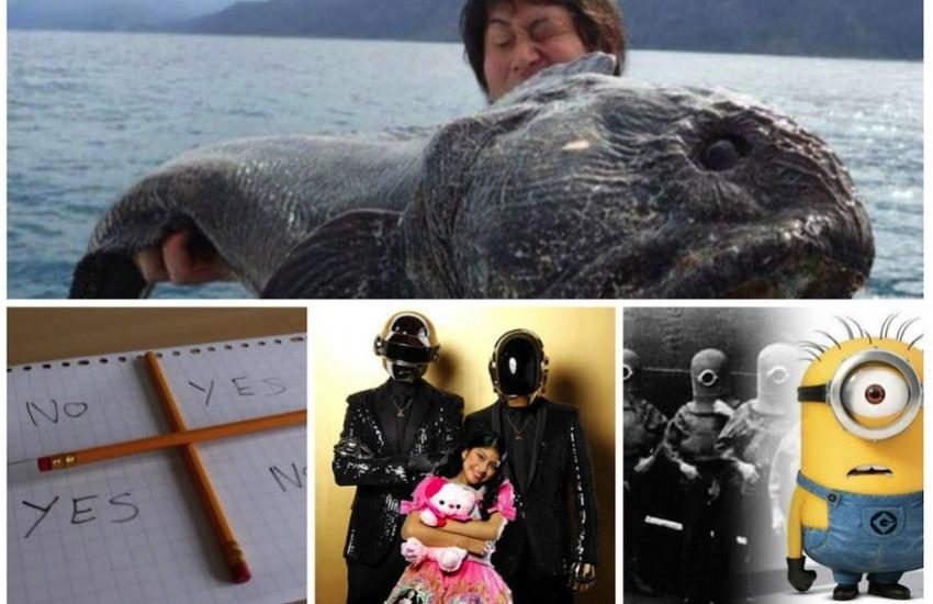 Imágenes de algunas de las historias virales más populares del año