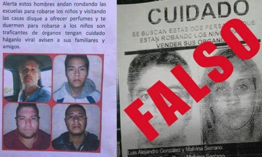 Imágenes con las que se regó el rumor de los traficantes de órganos de niños de Huaycán   Perú21