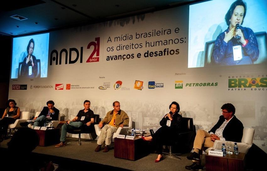 Inauguración del evento. Fotografía: 21anos.andi.org.br