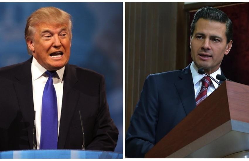 Trump y Peña Nieto | Fotografías: Gage Skidmore y Presidencia de México en Flickr. Usadas bajo licencia Creative Commons