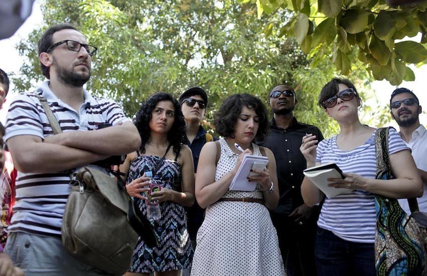 Participantes de la Beca Gabo 2013.