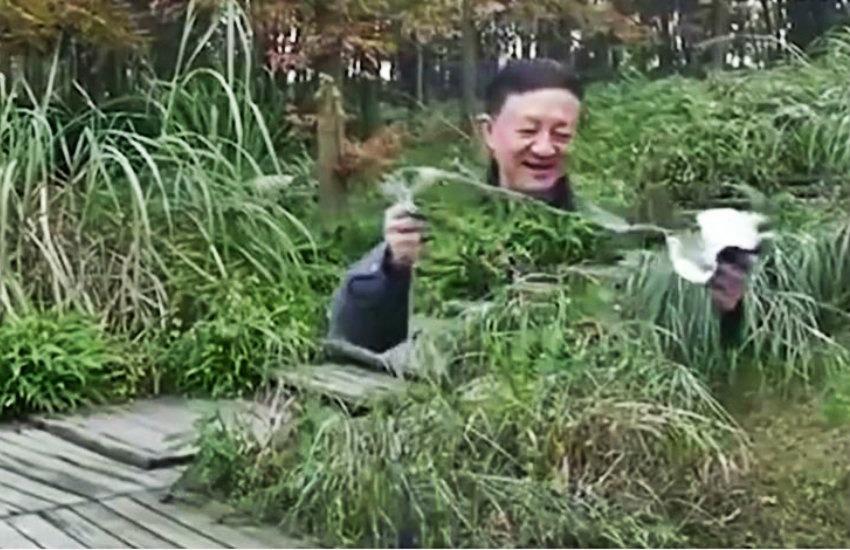 ¿Es auténtico el video que muestra a un chino usando una capa de invisibilidad?... ¡Responde nuestro quiz semanal de noticias!