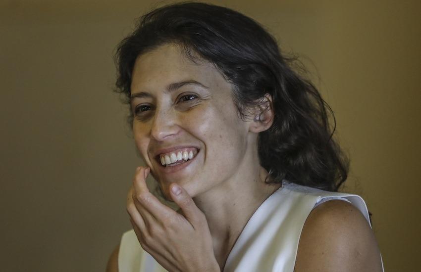 Daniela Abad, directora colombiana. Foto: Joaquín Sarmiento / FNPI.