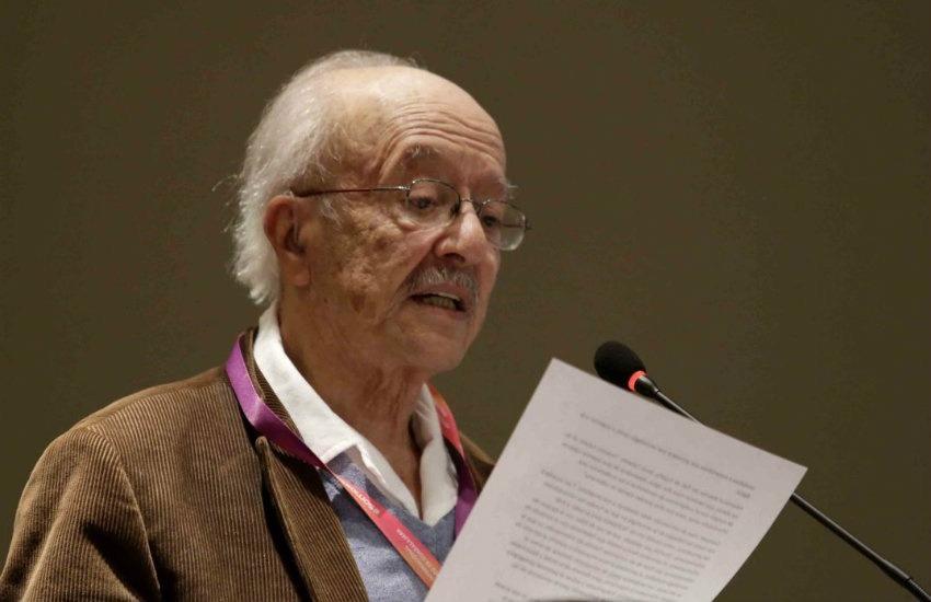 Javier Darío Restrepo. Fotografía: Arnoldo Delgadillo