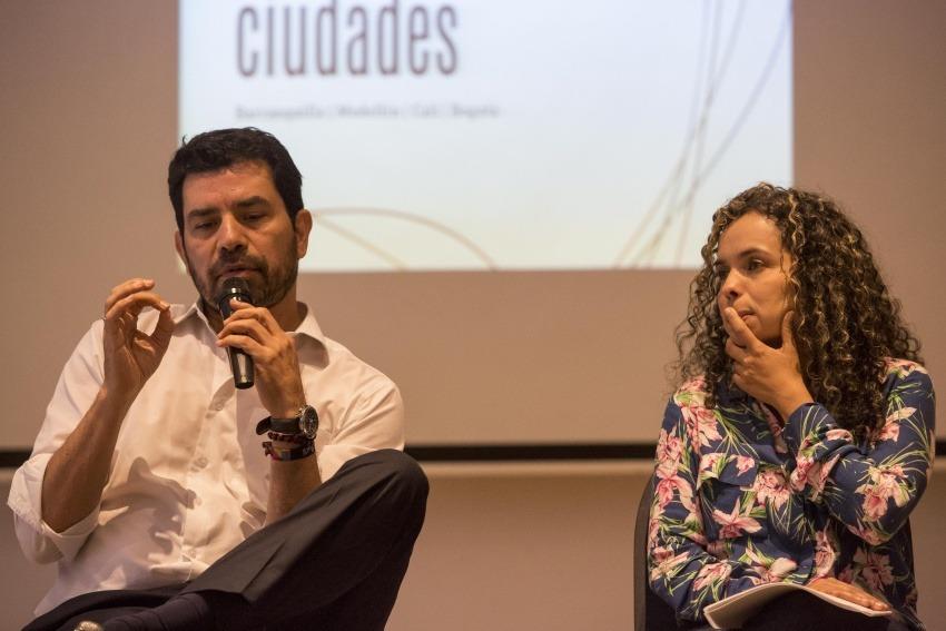 Ernesto Cortés y Ginna Morelo. Foto: David Estrada Larrañeta / FNPI.