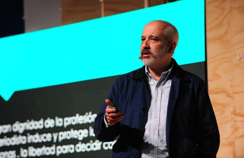 Daniel Moreno durante su visita a Bogotá    Foto: Jose Guiot / Feel Marketing Sensorial