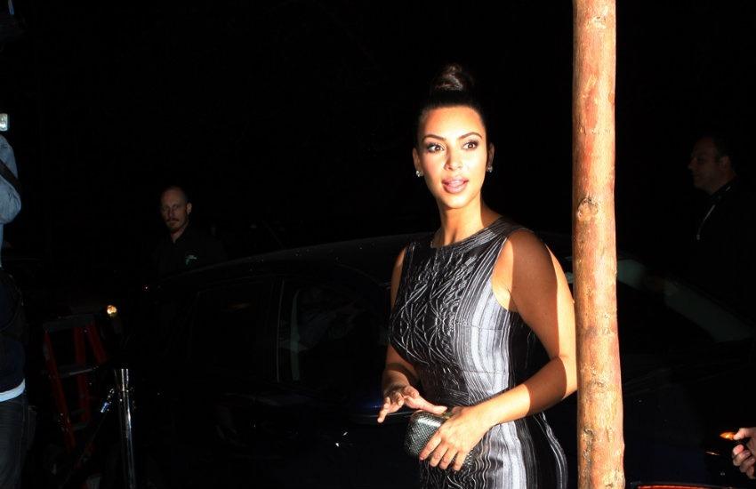 Kim Kardashian, ícono del entretenimiento, en Sídney, 2012. Fotografía: Eva Rinaldi en Wikimedia Commons.