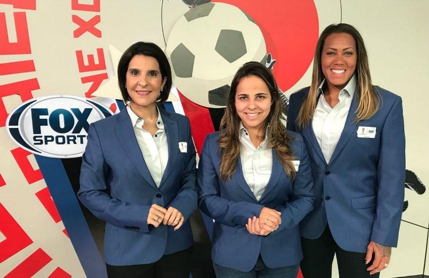 Isabelly Morais, Vanessa Riche y la guardameta Bárbara formaron equipo para este Mundial | Fotografía: Cortesía de Folha Regional.