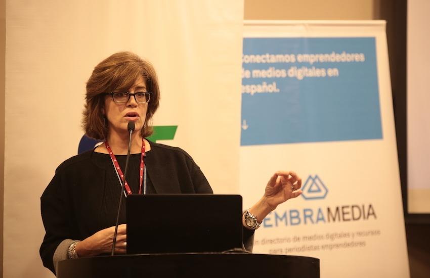 Patricia Torres-Burd, vicepresidenta de UBC International Media Consulting. Foto: Emmanuel Upegui / FNPI.