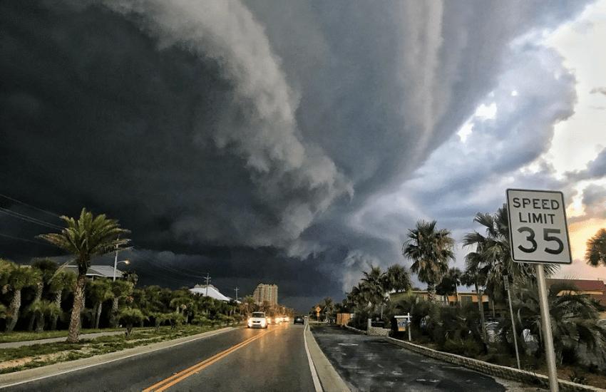 ¿Es auténtica esta fotografía del huracán Michael llegando a Florida?... ¡Responde nuestro quiz de noticias!
