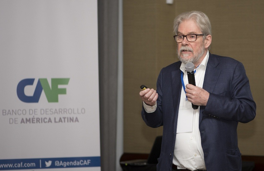 MIchael Reid, editor senior para América Latina y España en The Economist. Foto: Diana Sánchez / FNPI.