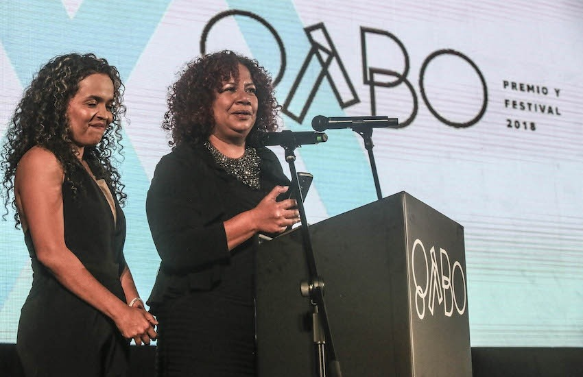 Ginna Morelo y Luz Mely Reyes, ganadoras del Premio Gabo 2018 en la categoría Cobertura, harán parte de las actividades abiertas al público. Foto: Joaquín Sarmiento/FNPI.