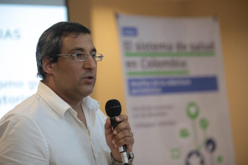 Carlos Dáguer, exasesor de comunicaciones del Ministerio de Salud de Colombia. Foto: Emmanuel Upegui / FNPI.