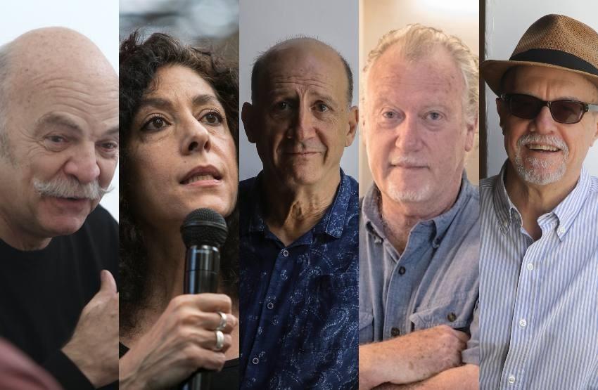 Martín Caparrós, Leila Guerriero, Jonathan Levi, Jon Lee Anderson y Héctor Feliciano / FNPI.