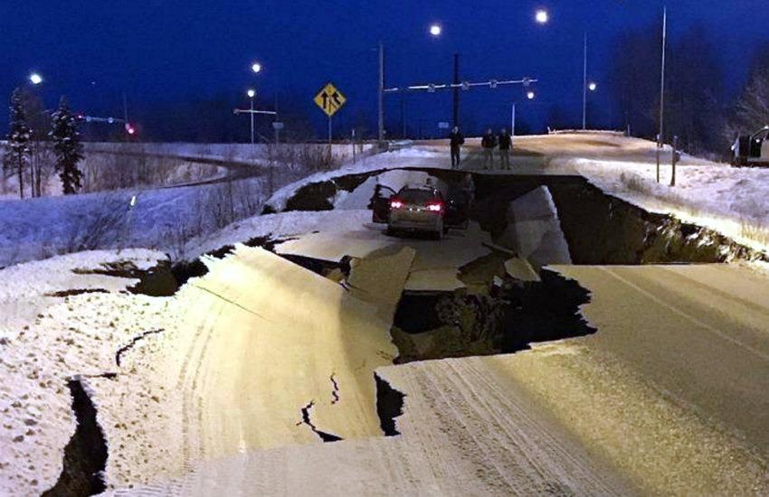 ¿Es real esta fotografía tomada tras el sismo de 7.0 en Alaska?... ¡Responde nuestro quiz de noticias!