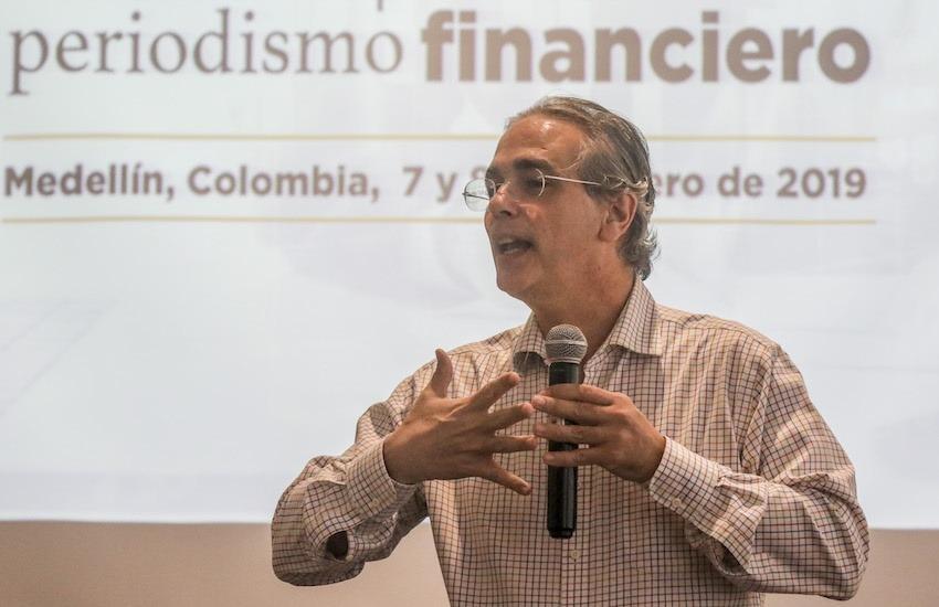 Luis Miguel González, director editorial de El Ecomista (México). Foto: Joaquín Sarmiento / FNPI.