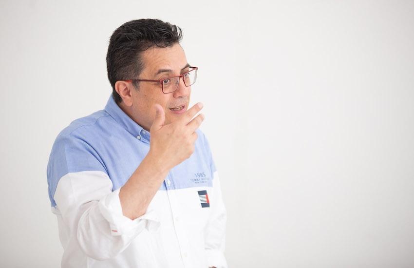 Daniel Lizárrga, coordinador de la Unidad de Investigaciones Periodísticas en Mexicanos Contra la Corrupción. Foto: Emmanuel Upegui / FNPI.
