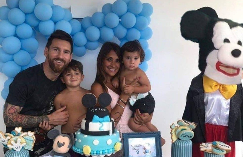 ¿Es real este patético Mickey Mouse en la fiesta de cumpleaños de uno de los hijos de Messi?... ¡Responde nuestro quiz de noticias!